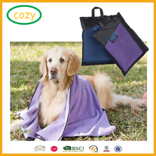 Free Cleaning And Grooming Absorbent Animal Blanket Cloths 2 Pack Microfiber Pet Bath Towels For Cleaning Dogs & Cats