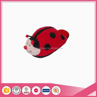 women novelty cute ladybugs animal head slippers