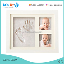 cheapest china factory baby wood photo frame picture frame
