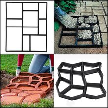 DIY Garden Concrete Pavement Plastic Mold for Making Pathways and Molds for Concrete Walls