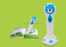 Bear Shaped Children Electronic Reading Pen With Game / Music Playing