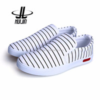 New models wholesale Breathable fashion white canvas shoes