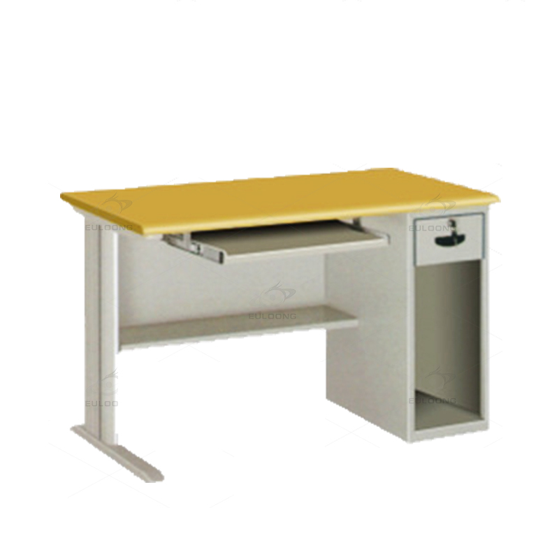 Modern Steel Office Furniture Latest Simple Metal Computer Table Photos