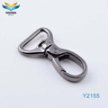 hot sale D ring zinc alloy metal snap hook swivel hooks for handbag
