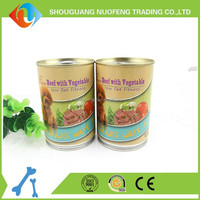 tasty wet food popular dog food Beef with Vegetable Wet pet treat Supplier