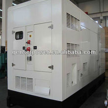 Hotel Skid Mounted Diesel Generator Engine Diesel 800kw Silent Generator With Cummins Engine