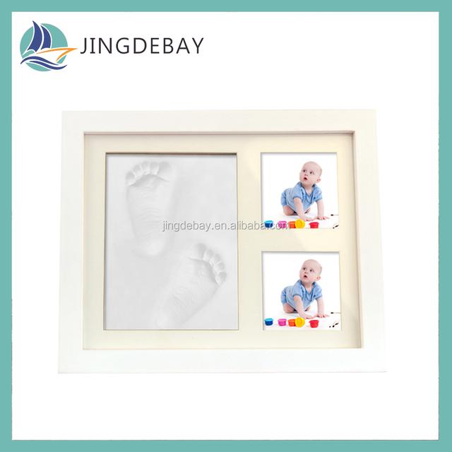 baby footprint clay keepsake_Yuanwenjun.com