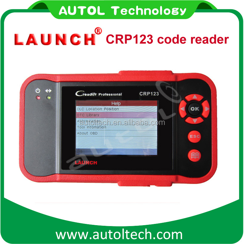 New Arrival Auto Code Reader Launch CRP123 CRP 123 OBD2 / EOBD Car Scanner Launch Diagnos Tool Professional Creader CRP123