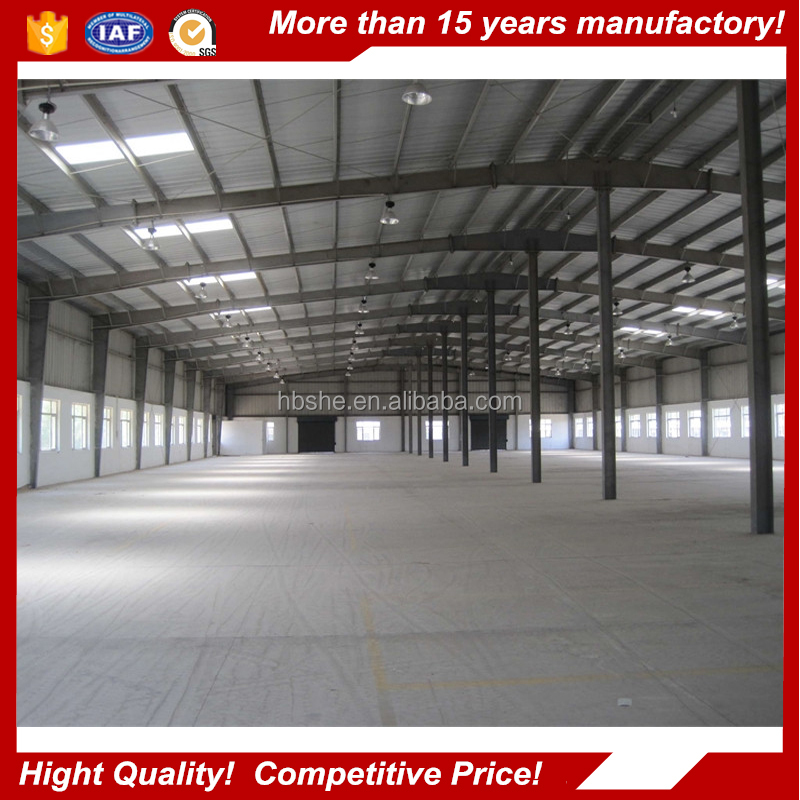 pre engineered steel building / Wide Span Steel Structure Made in China