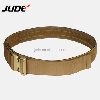 Heavy Duty Waist Quick Release Style Rigger Web Tactical Nylon Cobra Buckle Men Khaki Belts