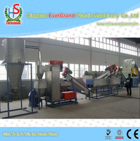 waste plastic pp/pe film recycling plant