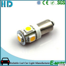 2017 hot saling T10 BA9S White car LED light 12V
