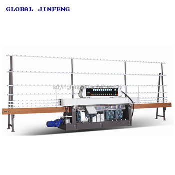 JFE-12325 Glass straight line grinding edge polishing machine charmfer machine with CE Europe standard