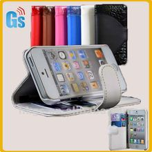 For Apple iPhone 5 Wallet Pouch Holster leather case