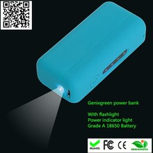 domino cell phone charger 2200/2600/3000mah mini powerbank with led torch rubber oil portable charger