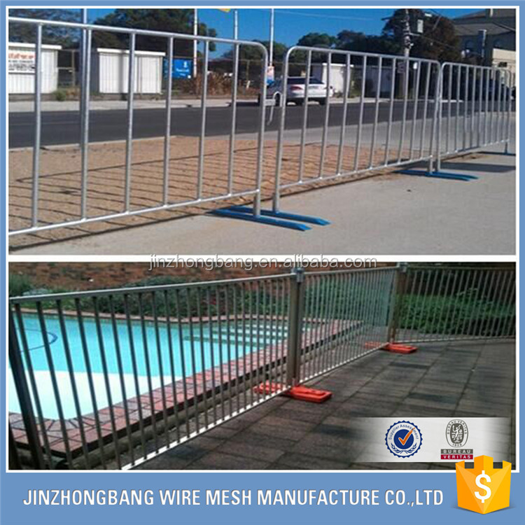 Portable AND Temporary Mesh Fence Panels With Base( Factory)