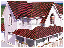 Rich color and type roof tiles lightweight fiberglass shingle