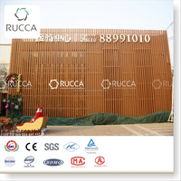 100X35 mm WPC Wood Plastic Multifunctional Decorative Exterior Wall Tile ,Ceiling Board of Garden from China
