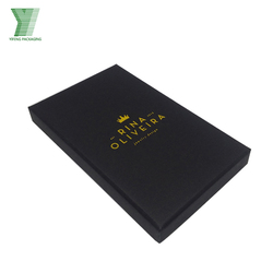 Dark Black luxury jewelry box packaging customized big lots jewelry box