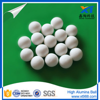 Steel Plant Catalyst support high alumina ball 1/4 inch aluminium balls