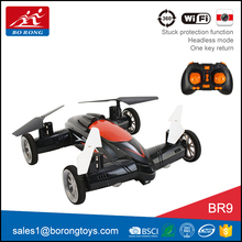 best choice airphibian racing flying car remote control drone with hd camera wifi for sale BR9