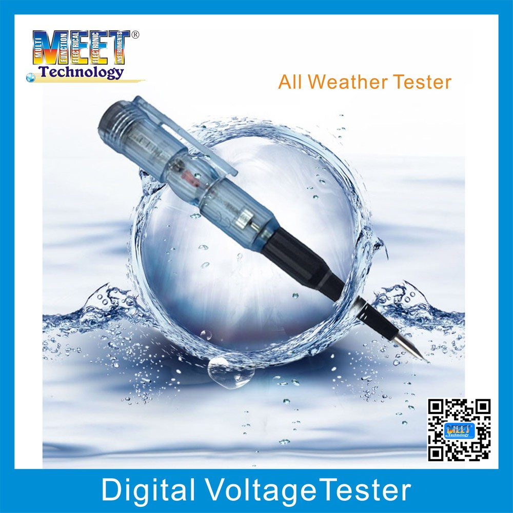 MS-18 Water Proof Voltage Tester Pen Electric Test Pen Screwdriver
