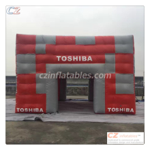 2017 new custom made advertising inflatable tent inflatable cube tent price