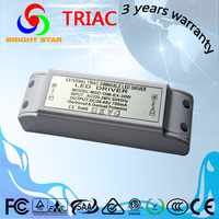Triac dimmable led driver indoor use 30w led power driver 500ma constant current led power supply