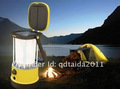New rechargeable camping led solar lantern