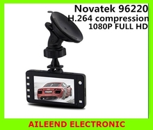 Novatek 96220 G3WL 2.7'' 1080P Car DVR Camera Recorder Camcorder 1080P FHD G-sensor IR Night Vision 140 Wide Angle Digital Zoom