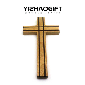 Handmade Religion Arts Crafts DIY Wood Cross For Decoration