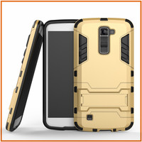 Heavy duty hybrid TPU+PC slim armor case for LG Q10 case