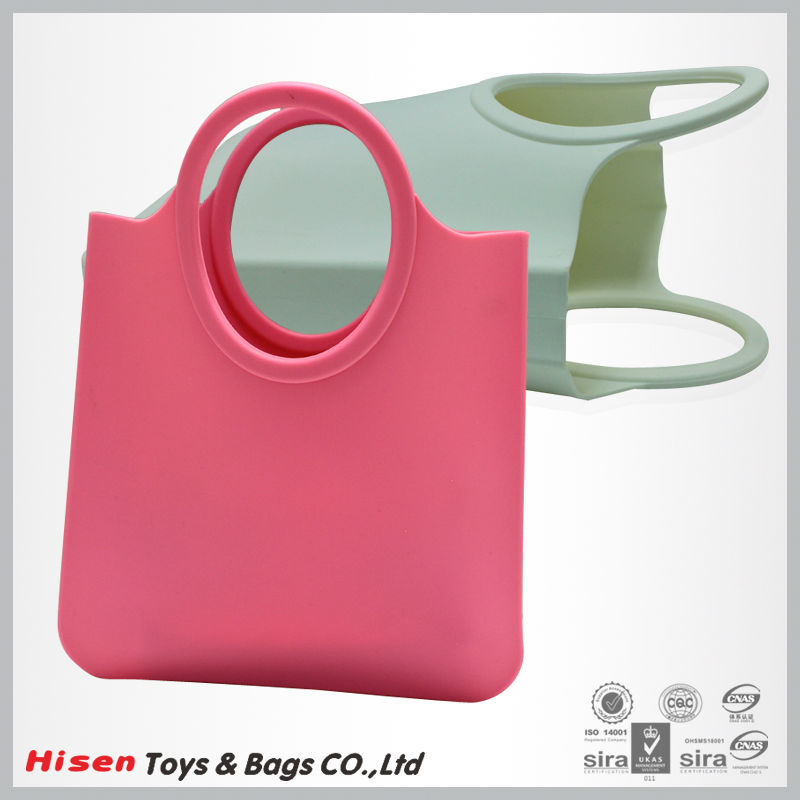 Silicone imitate brand woman bags