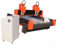 jinan ys cnc router ys used stone cutting machine for sale water jet cutting machine with two spindles