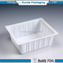 disposable plastic containers for tofu/bean curd
