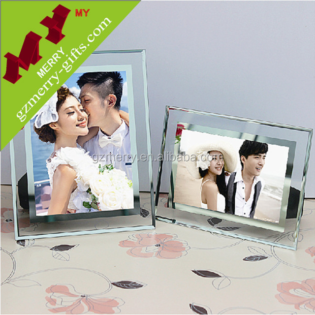 Christmas products picture frame glass wholesale