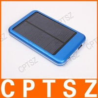 DS-5000 5000MAh solar portable charger power bank for ipad iphone smart phone PDA , Solar Charger for Samsung Galaxy S3 i9300