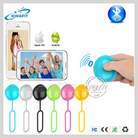New stylish wholesales wireless bluetooth remote shutter ball for IOS & Android phone