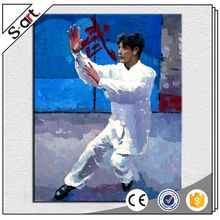 China manufacturer modern professional sport xiamen oil painting abstract