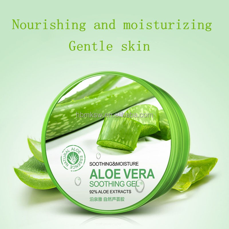 Private Label Aloe Vera Gel Moisturizing Face Cream with Remove Acne Sun Repair Aloe Vera Soothing Gel