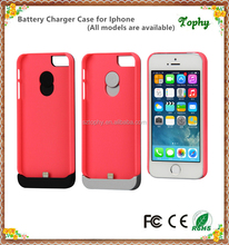 Power case for iphone5, rechargeable battery case for iphone5s, detachable charger case for iphone5