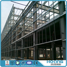 China Profession Steel Manufacturer Prefabricated Steel Structure Construction Building Bridge Garage Airport Warehouse