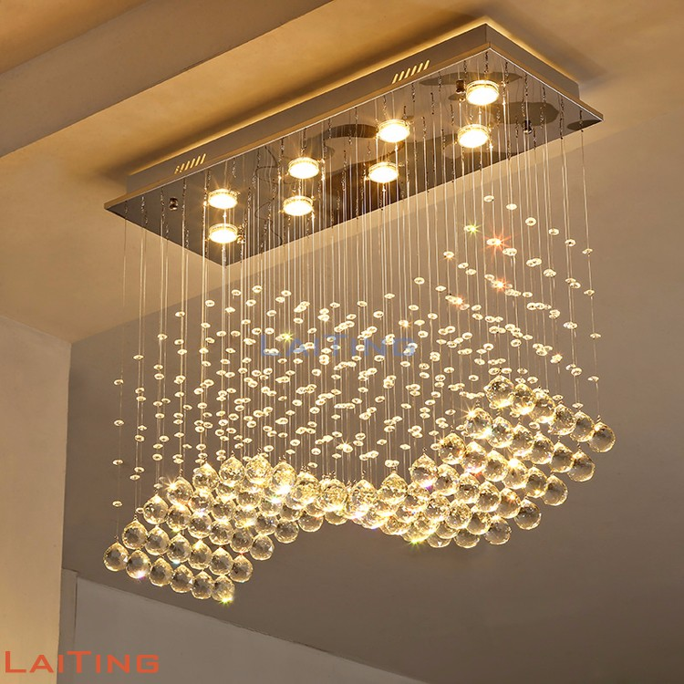 Chandelier pendant waterfall decoration dinning room mega lights lamp 92014