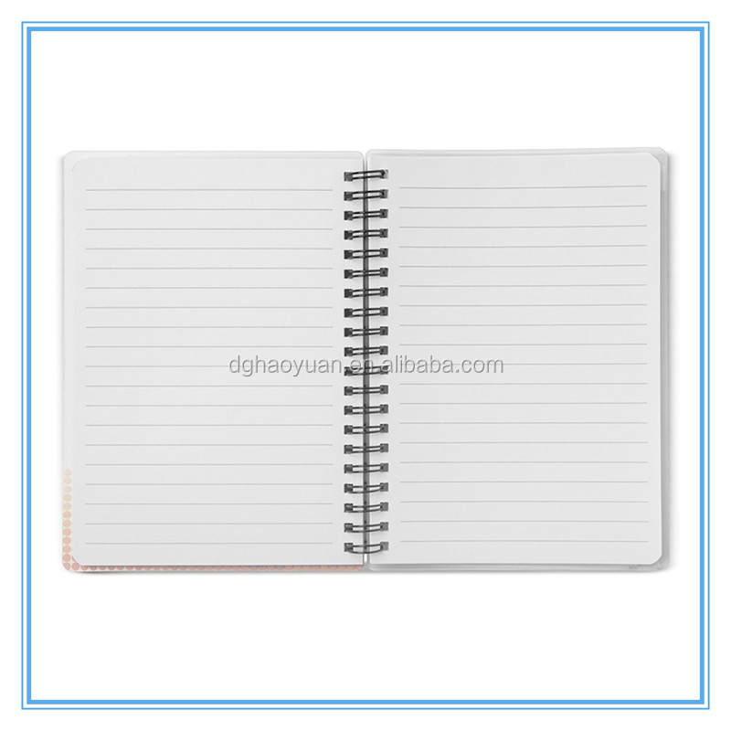 A4/A5/A6 Soft Cover Color Edge Paper Notebook