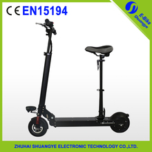 Scooter with seat cheap self balancing two wheel electric scooter