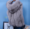 2016 Fahion Fur, Real Fox Fur Vest,Fur Gilet with Top Quality Finland Fox Fur