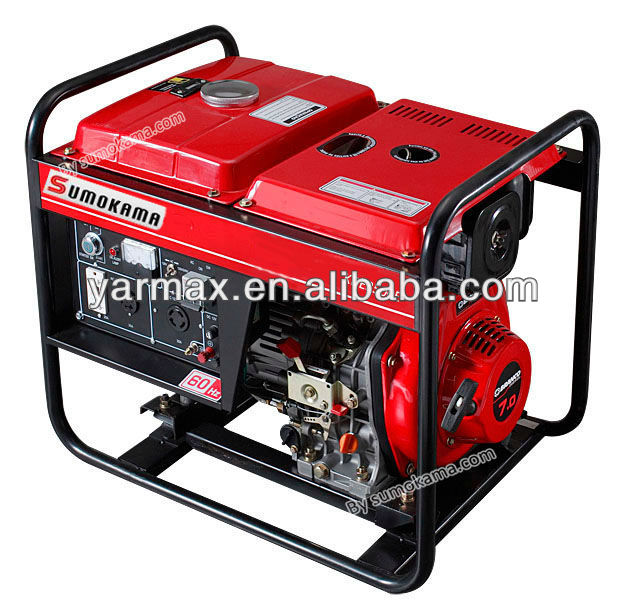 single cylinder 3KW diesel generator price dynamo generator for home from chinese supplier