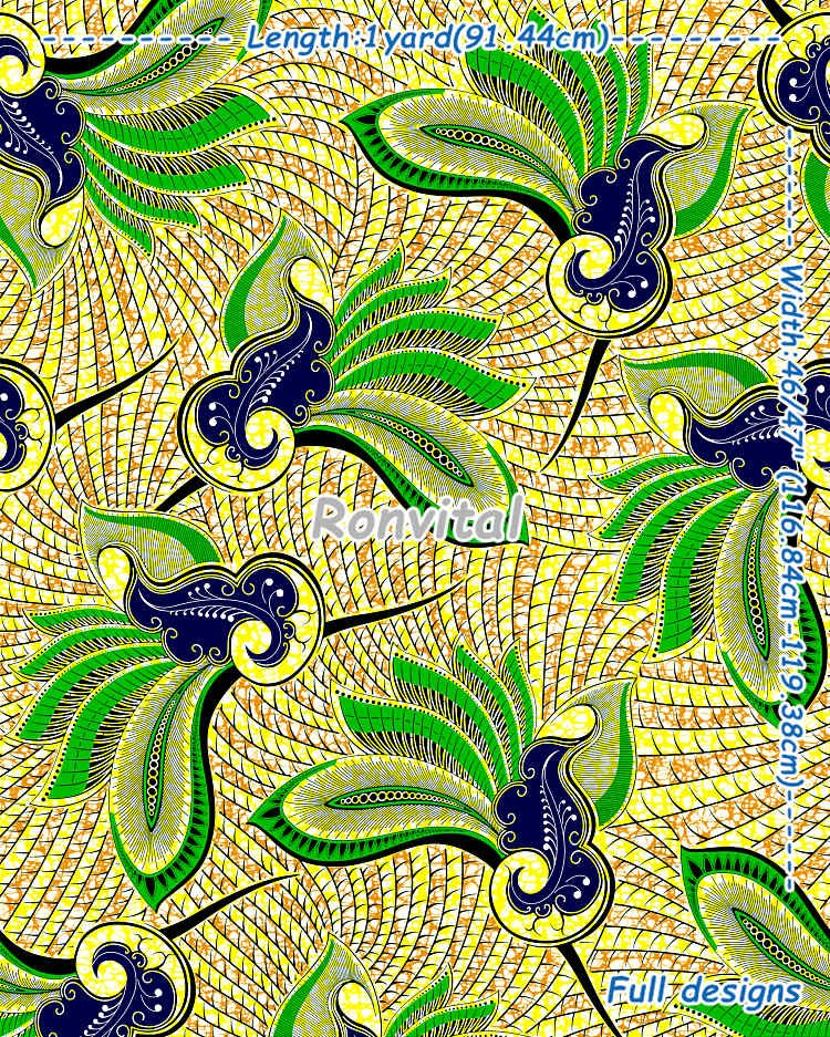 Item No.H588 Factory price direct african wax print fabric wholesale