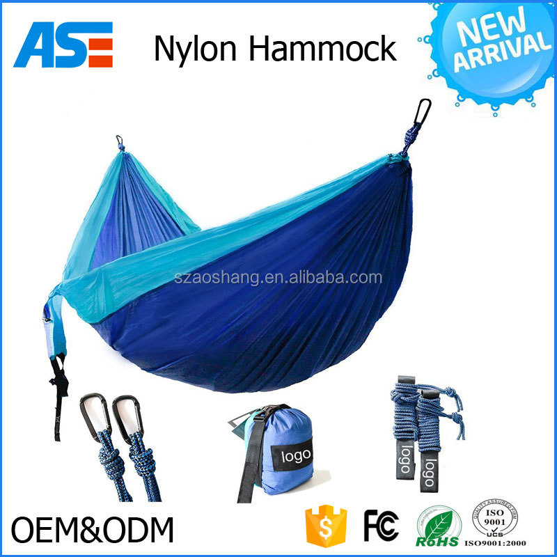 2017 Hot selling Double Person Portable Camping Hammock Swings Travel Hammock