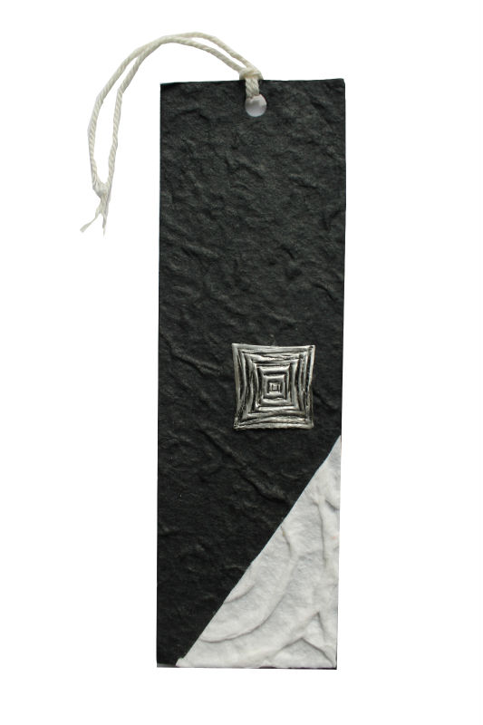 handmade paper bookmark for books